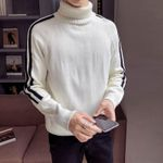 pullover thick loose turtleneck  fashion sweater