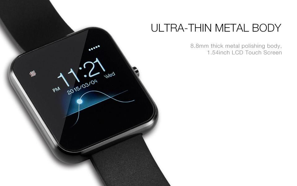 Bluetooth Smart Watch IOS Android Smartphone