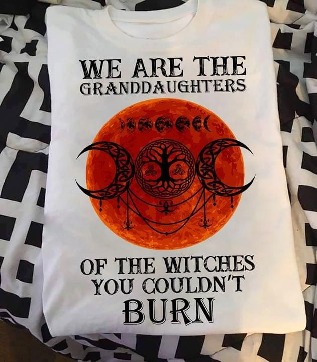 Witch We Are Granddaughter of the witches you couldnt burn t shirt hoodie sweater