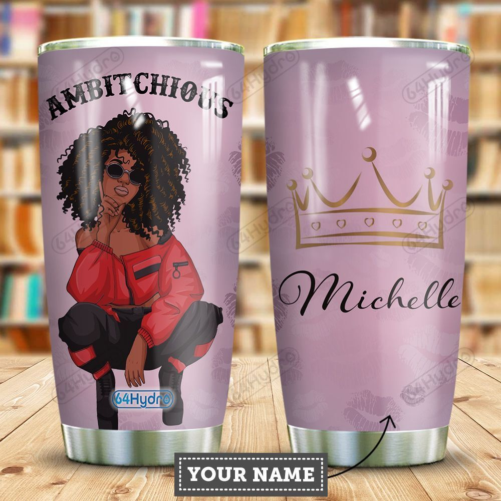 Self Love Black Women Personalized HHE2509022 Stainless Steel Tumbler